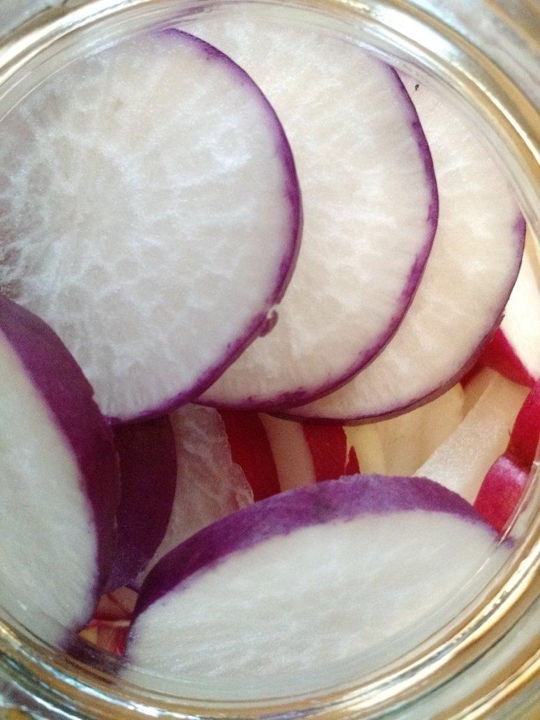 radish-slices